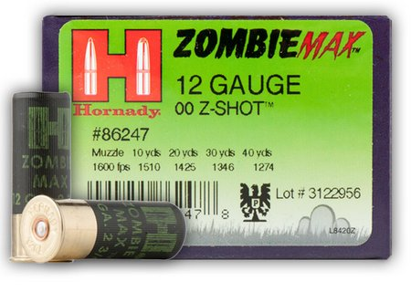 Hornady Zombie Max Home Defense Shotgun Shells