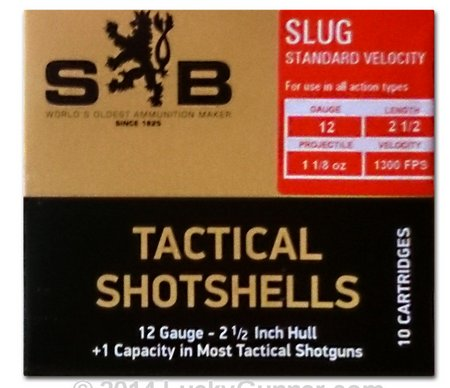 Sellier & Bellot Tactical Shotgun Ammo